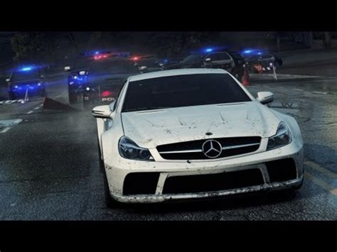 need for speed™ most wanted mercedes sl65 amg hidden
