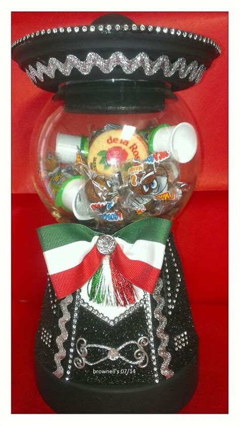 mexican themed quinceanera ideas charro candy jar with mexican candy quince ideas