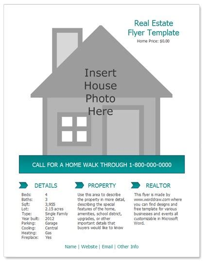 property flyer template free 24 stunning real estate flyer templates demplates