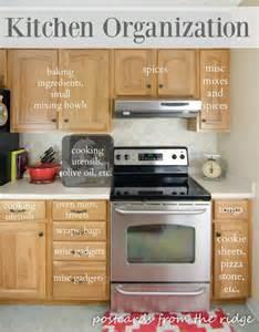 kitchen organization tips postcards from the ridge stacy charlie kitchen cabinet organization