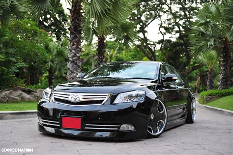 stanced toyota camry slammed style camry stancenation form gt function
