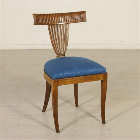 gruppo di sei sedie dec 242 dec 242 bottega 900