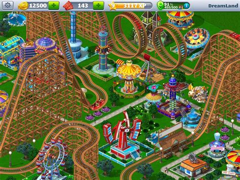 rct4 mobile rollercoaster tycoon 174 4 mobile apk v1 10 6 mod money for