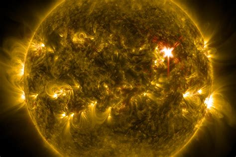 Solar Flare Lights The Threat Of Solar Flares Jstor Daily