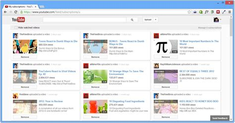youtube layout grid get a wider grid like youtube layout hide watched