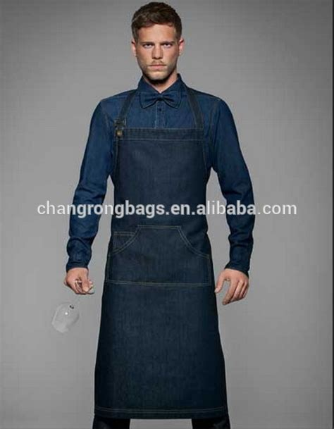 Apron Custom By Fsd Store custom made denim chef cooking apron kitchen apron buy