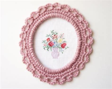 crochet frame pattern free picture frame crochet free pattern crochet pinterest