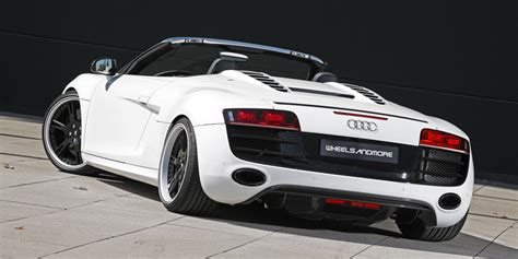 tuning, wheels and exhaust for Audi R8 V10 Spyder