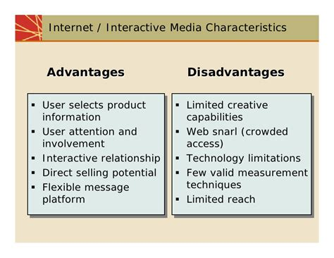 Mass Media Essay Advantages Disadvantages by Chap10 Media Planning And Strategy