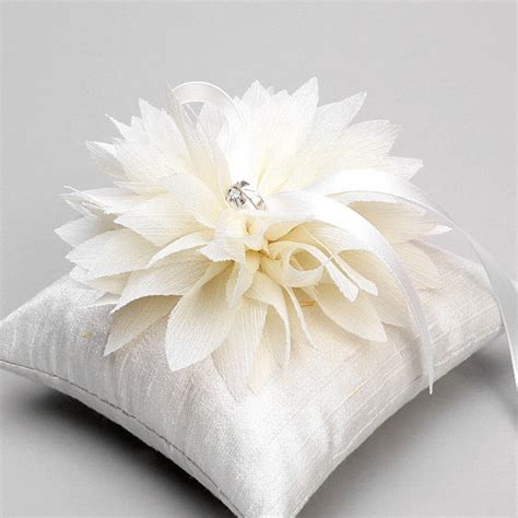Wedding Rings Pillow by Wedding Ring Pillow Bridal Ring Pillow Flower Ring By