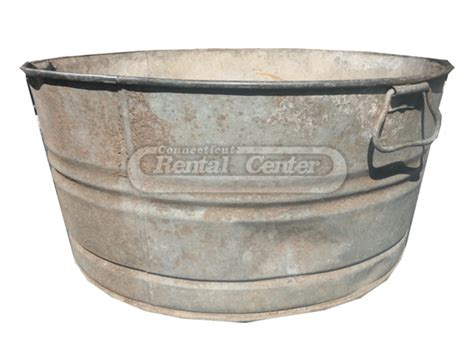 old galvanized bathtub vintage galvanized bathtub painted galvanized tubs