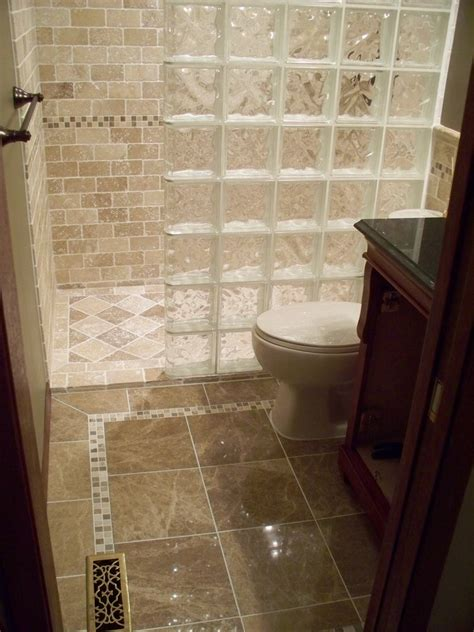 Glass Bathroom Tile Ideas by Impressive Glass Block Shower Decorating Ideas