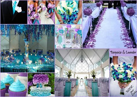 LAVENDER AND TURQUOISE WEDDING inspiration by Rock your