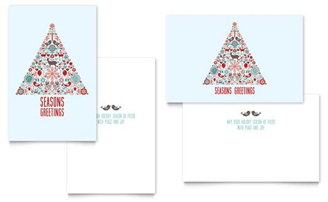 microsoft card template greeting card template word publisher