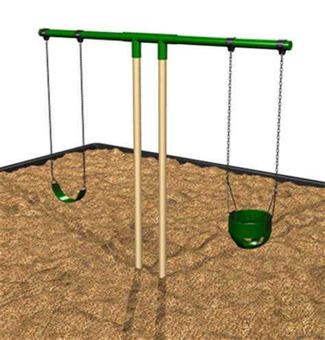 swing t custom commercial swing sets steel t swing set for sale