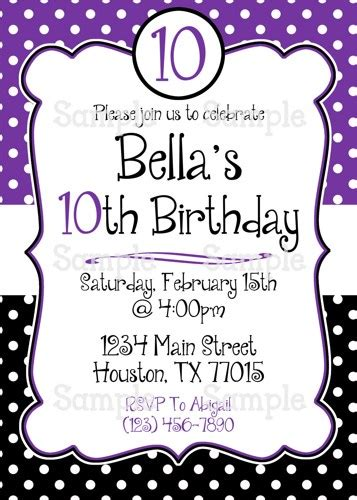 404 best purple pink birthday party invitations images on