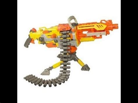 nerf vulcan review youtube