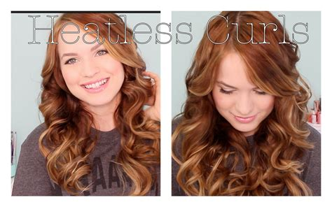 easy overnight hairstyles for school back to school heatless curls