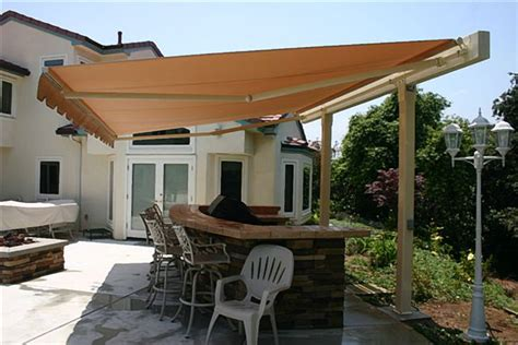 diy backyard awning outdoor furniture design and ideas