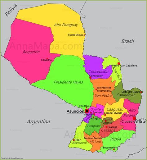 imagenes satelitales paraguay mapa de paraguay annamapa com
