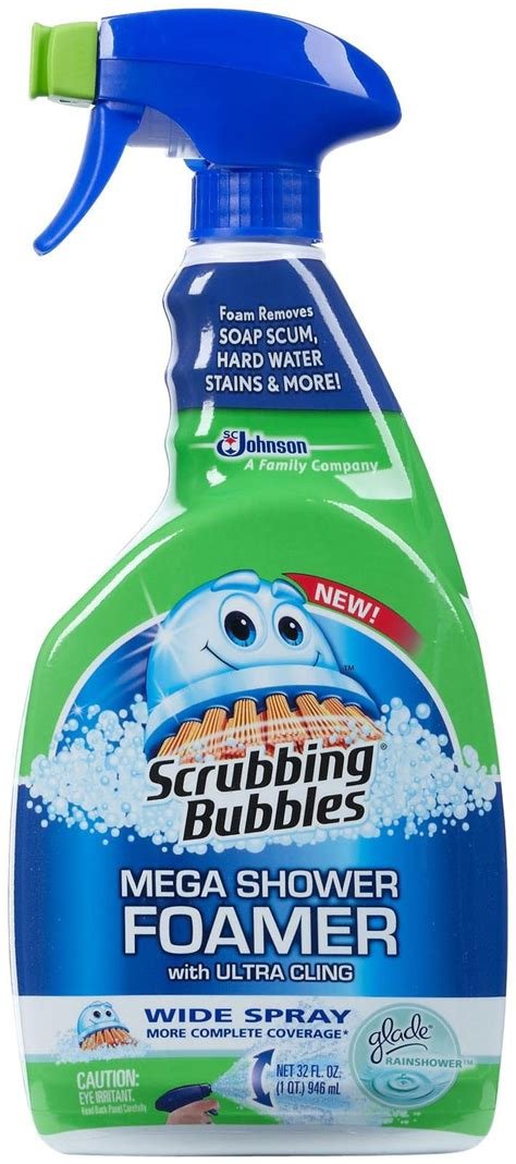 Scrubbing Bubbles Mega Shower Foamer Review scrubbing bubbles mega shower foamer reviews in household