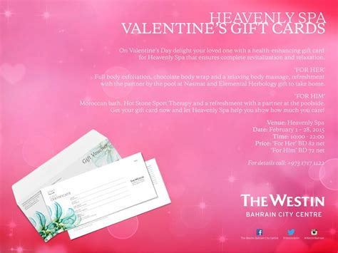 Heavenly Massage Gift Card - heavenly spa valentine s gift cards events whatsupbahrain net