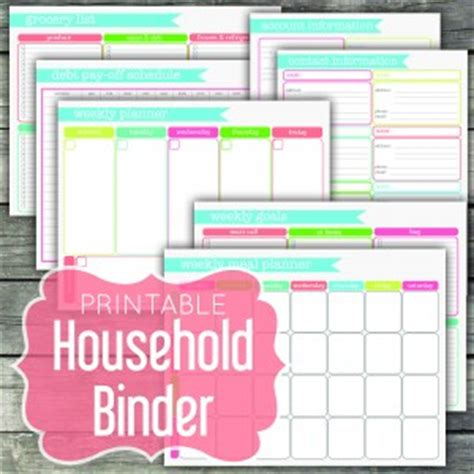 organizational printables bundle sale: nearly 300 pages at