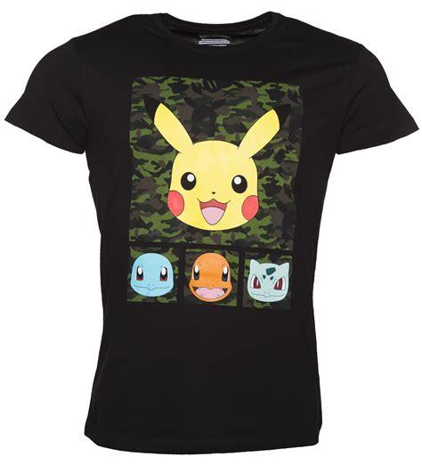 Tshirt Pikachu30 s black pikachu and friends t shirt