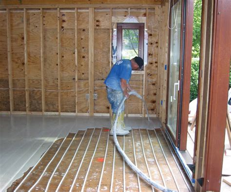 radiant floor heating the ultimate in savings and comfort