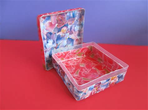 How To Make A Paper Mache Box - how to make a paper mache decorated box