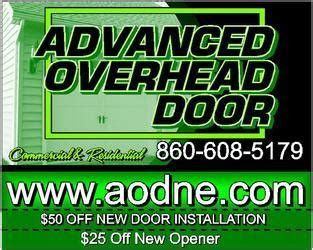 Advanced Overhead Door Advanced Overhead Door Llc Norwich Ct 06360 Homeadvisor