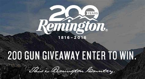 Gun Giveaway Sweepstakes - news 171 daily bulletin