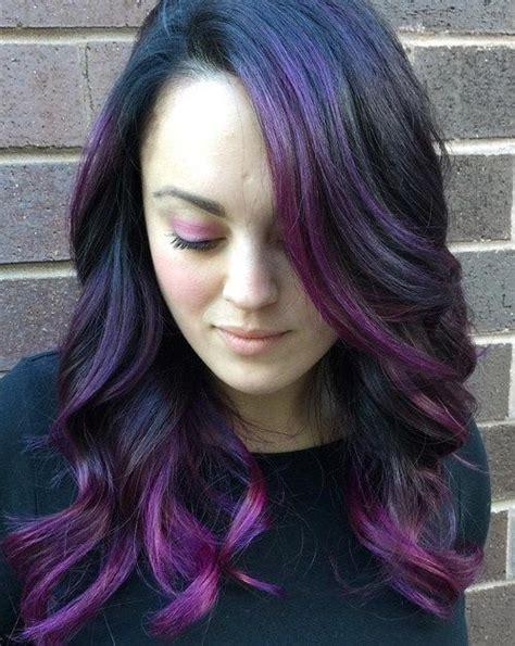 1000 ideas about purple peekaboo hair on purple peekaboo highlights colored