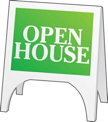 can an open house sell your house