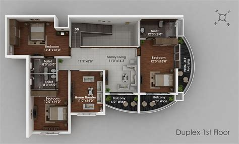 best duplex floor plans solitaire luxury apartments in hathill mangalore