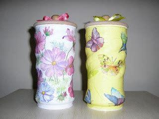 lata decorada tipo saquinho latas decoradas passo a passo