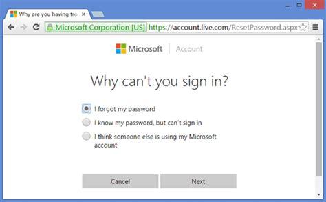 reset windows password microsoft account how to reset forgotten windows 10 password without data loss