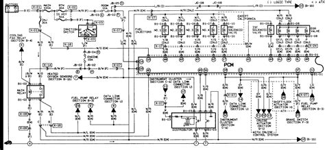 1996 mazda protege wiring diagram 33 wiring diagram