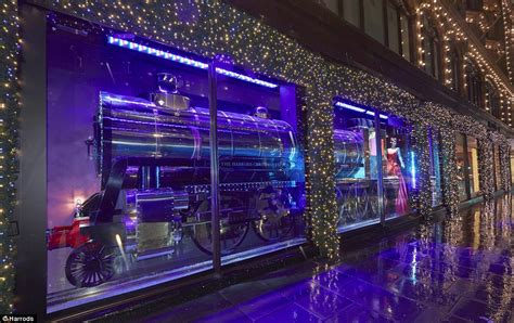 all aboard the harrods express first look at luxury store