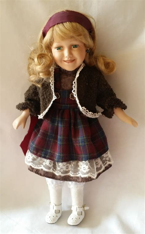 haunted doll glass porcelain haunted doll with hat 16 collectible doll