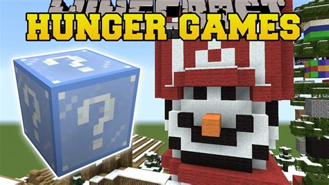 hunger games mod in minecraft minecraft christmas village hunger games lucky block
