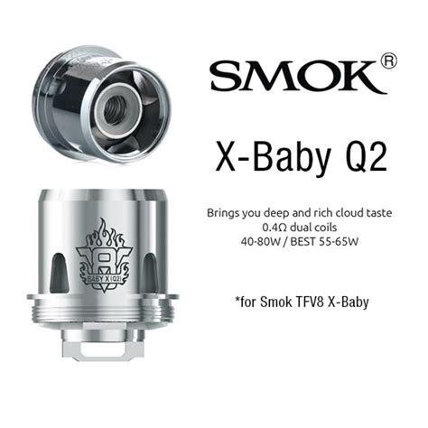Produk Istimewa Replacement Coil Smok Tfv8 Baby Q2 Authentic smok tfv8 x baby coil q2