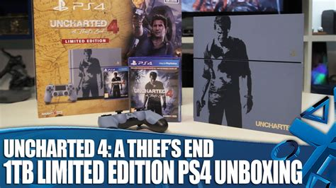 Ps4 Uncharted 4 Limited Tanpa uncharted 4 limited edition 1tb ps4 unboxing