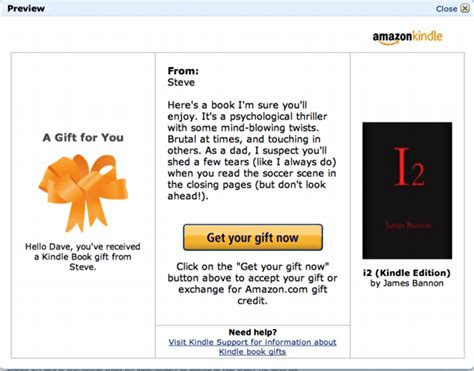 Gift Card For Kindle Books - how do i buy a kindle book as a gift for someone ask dave taylor