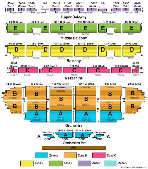 fox seating chart st louis fabulous fox theatre mo seating chart