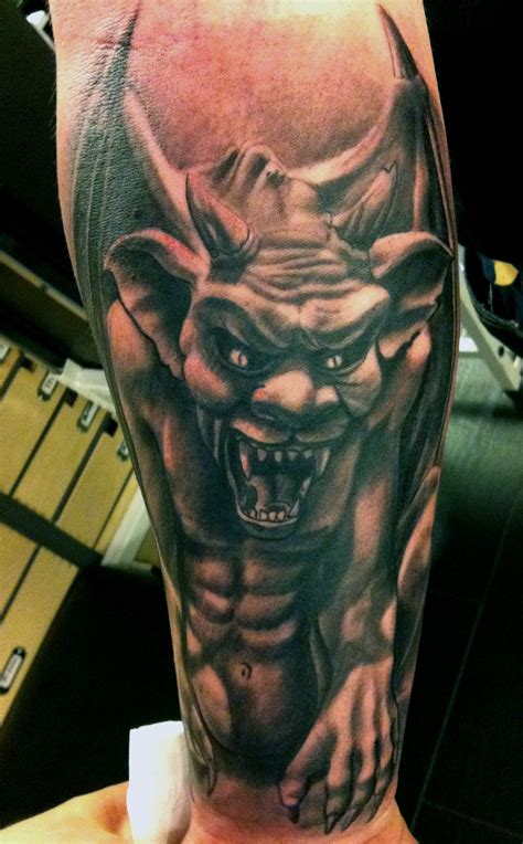 gargoyle tattoos the history of gargoyles grotesques facts information