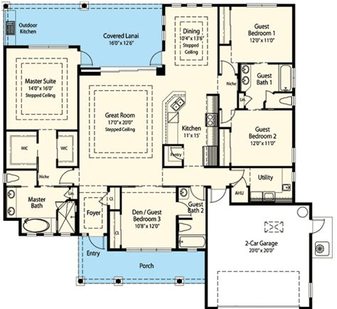 smart house plans energy smart house plan with options 33109zr 1st floor master suite butler walk