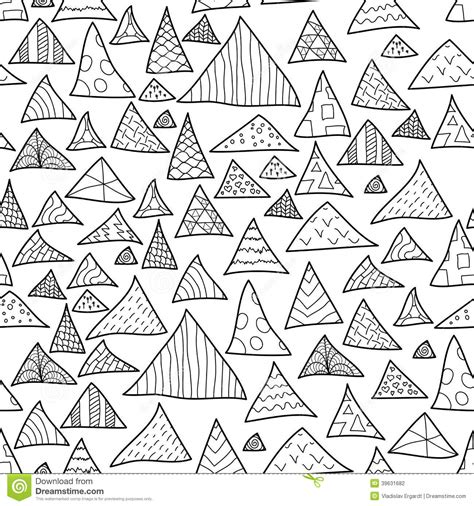 hipster pattern drawing seamless background black and white hipster pattern stock