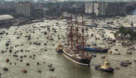 amsterdam porto droni il porto di amsterdam in timelapse visto dal