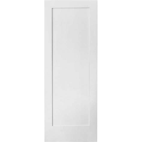Lowes Interior Door Shop Reliabilt Solid 1 Panel Slab Interior Door Common 28 In X 80 In Actual 28 In X 80